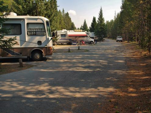 Fishing bridge rv park yellowstone national park for Fishing bridge rv park