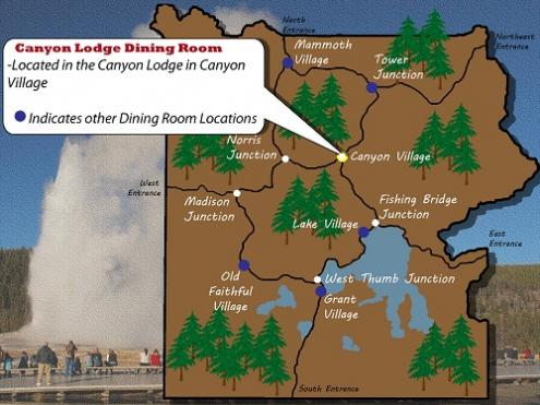 Canyon Lodge Dining Room - Yellowstone National Park - Canyon Region on