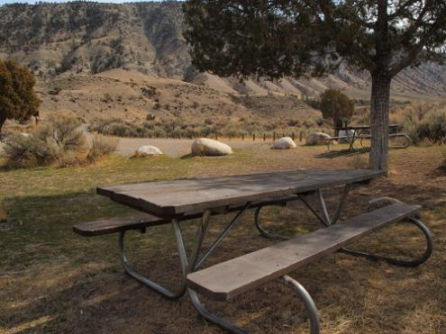 Picnic Area and Mt. Everts