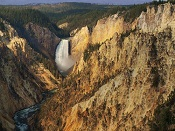 Lower Falls and Grand Canyon of the Yellowstone - Yellowstone National Park