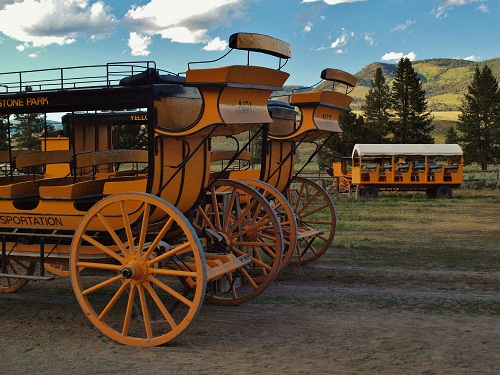 Horseback Riding and Stagecoach Rides