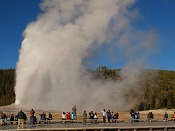 Old Faithful Geyser - Yellowstone National Park